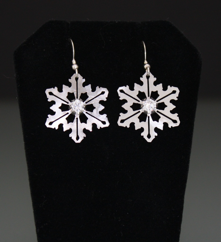Stainless Steel Snowflakes