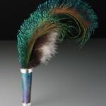 Enameled Hatpin #5.  ©2010 Peggy Foy