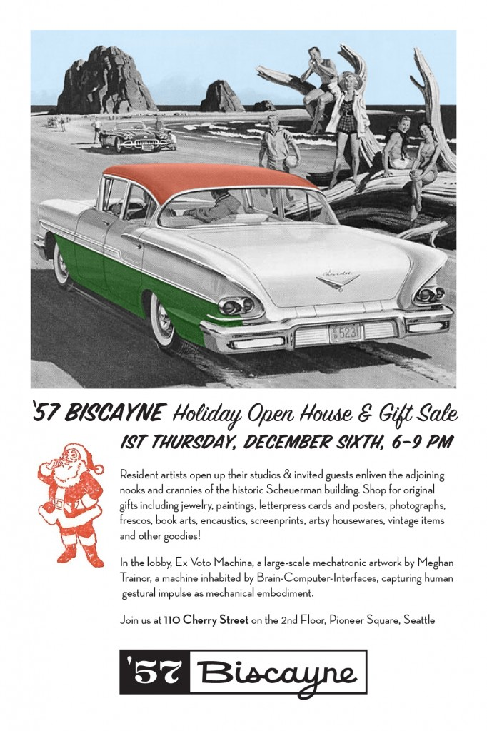 Postcard for 57 Biscayne holiday show