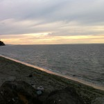 Port Townsend beach at sunset