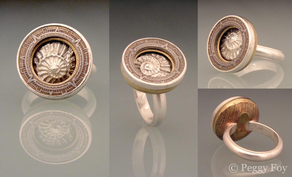 Mayan Compass Ring #1
