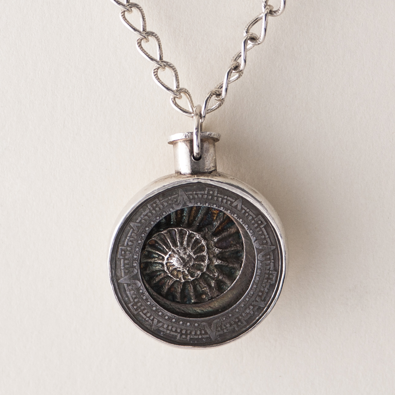 Peggy foys studio log tbt original mayan compass mayan compass pendant in sterling silver aloadofball Images
